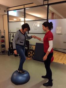 Anneke Mulder - Oefentherapie voor revalidatie training door Marlous